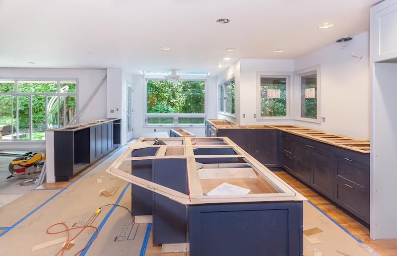 enhancements inc templating a kitchen counter
