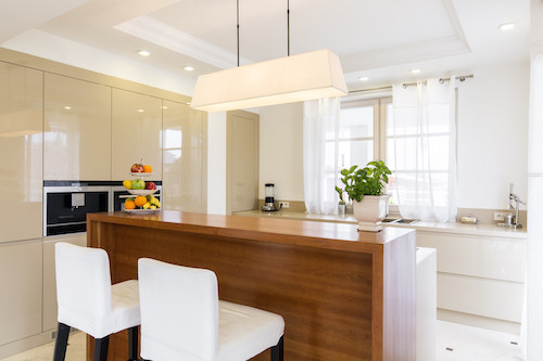 kitchens have lighting that make a big difference